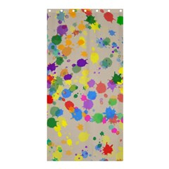 Painted curtain Shower Curtain 36  x 72  (Stall)