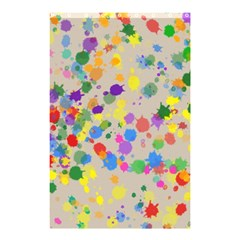 Painted curtain Shower Curtain 48  x 72  (Small)