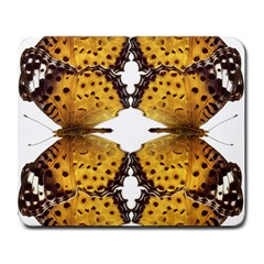 Butterfly Art Tan&black Large Mouse Pad (Rectangle)
