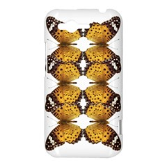 Butterfly Art Tan&black HTC Rhyme Hardshell Case