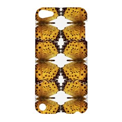 Butterfly Art Tan&black Apple Ipod Touch 5 Hardshell Case