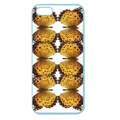 Butterfly Art Tan&black Apple Seamless iPhone 5 Case (Color)