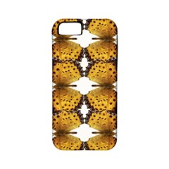 Butterfly Art Tan&black Apple iPhone 5 Classic Hardshell Case (PC+Silicone)