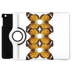 Butterfly Art Tan&black Apple Ipad Mini Flip 360 Case