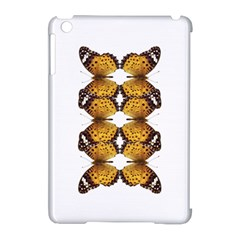 Butterfly Art Tan&black Apple iPad Mini Hardshell Case (Compatible with Smart Cover)