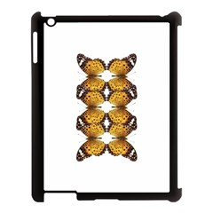 Butterfly Art Tan&black Apple iPad 3/4 Case (Black)