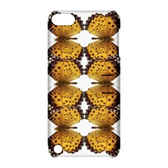 Butterfly Art Tan&black Apple iPod Touch 5 Hardshell Case with Stand