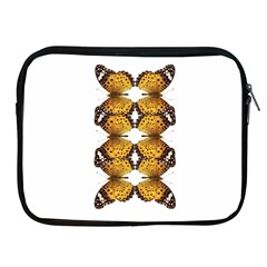 Butterfly Art Tan&black Apple iPad Zippered Sleeve