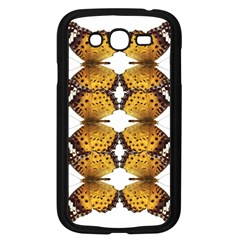 Butterfly Art Tan&black Samsung Galaxy Grand Duos I9082 Case (black)