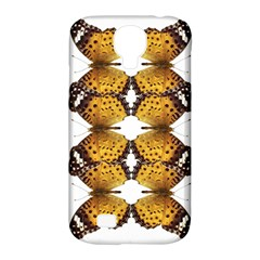 Butterfly Art Tan&black Samsung Galaxy S4 Classic Hardshell Case (PC+Silicone)