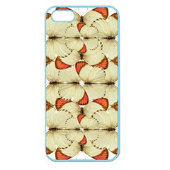 Butterfly Art White&orage Apple Seamless iPhone 5 Case (Color)