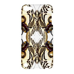 Butterfly Art Ivory&brown Apple iPod Touch 5 Hardshell Case