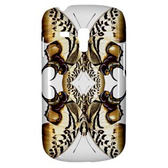Butterfly Art Ivory&brown Samsung Galaxy S3 Mini I8190 Hardshell Case