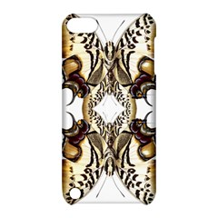 Butterfly Art Ivory&brown Apple iPod Touch 5 Hardshell Case with Stand