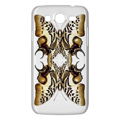 Butterfly Art Ivory&brown Samsung Galaxy Mega 5 8 I9152 Hardshell Case