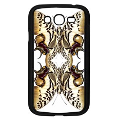 Butterfly Art Ivory&brown Samsung Galaxy Grand Duos I9082 Case (black)
