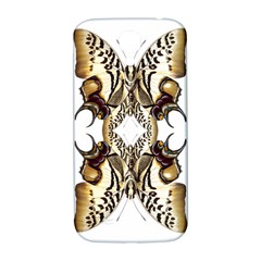 Butterfly Art Ivory&brown Samsung Galaxy S4 I9500/I9505  Hardshell Back Case