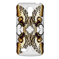 Butterfly Art Ivory&brown Samsung Galaxy S4 Mini (GT-I9190) Hardshell Case