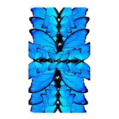 Butterfly Art Blue&cyan Memory Card Reader (rectangular)