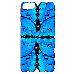 Butterfly Art Blue&cyan Apple Iphone 5 Classic Hardshell Case