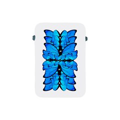 Butterfly Art Blue&cyan Apple iPad Mini Protective Sleeve