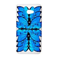 Butterfly Art Blue&cyan HTC Butterfly S Hardshell Case