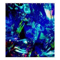 Underwater Shower Curtain 66  x 72  (Large)