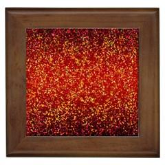 Glitter 3 Framed Ceramic Tile