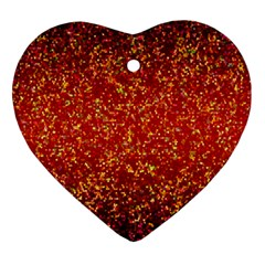 Glitter 3 Heart Ornament