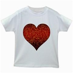 Glitter 3 Kids T Shirt (white)