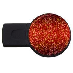 Glitter 3 2GB USB Flash Drive (Round)