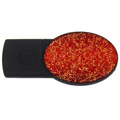 Glitter 3 2GB USB Flash Drive (Oval)