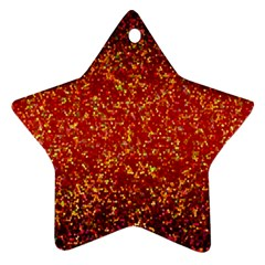 Glitter 3 Star Ornament (two Sides)
