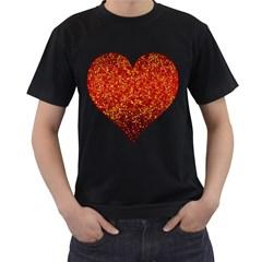 Glitter 3 Men s T-shirt (Black)