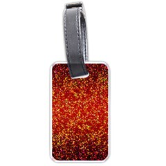Glitter 3 Luggage Tag (Two Sides)