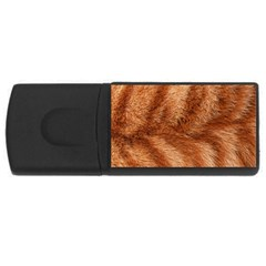 Cat Coat 1 4gb Usb Flash Drive (rectangle)