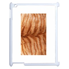 Cat Coat 1 Apple iPad 2 Case (White)