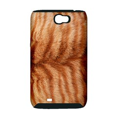 Cat Coat 1 Samsung Galaxy Note 2 Hardshell Case (PC+Silicone)