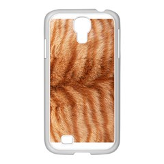 Cat Coat 1 Samsung GALAXY S4 I9500/ I9505 Case (White)