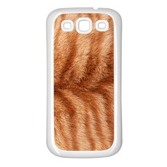 Cat Coat 1 Samsung Galaxy S3 Back Case (White)