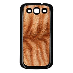 Cat Coat 1 Samsung Galaxy S3 Back Case (Black)