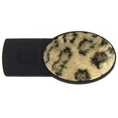 Leopard Coat2 1GB USB Flash Drive (Oval)