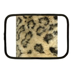 Leopard Coat2 Netbook Sleeve (medium)
