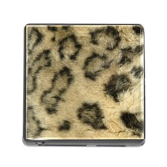 Leopard Coat2 Memory Card Reader With Storage (square)