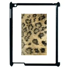 Leopard Coat2 Apple iPad 2 Case (Black)