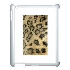 Leopard Coat2 Apple iPad 3/4 Case (White)