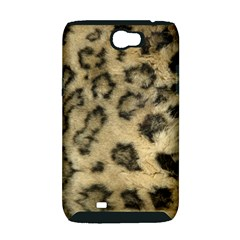 Leopard Coat2 Samsung Galaxy Note 2 Hardshell Case (PC+Silicone)