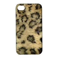 Leopard Coat2 Apple iPhone 4/4S Hardshell Case with Stand