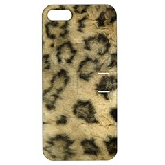 Leopard Coat2 Apple iPhone 5 Hardshell Case with Stand