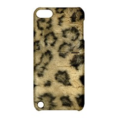 Leopard Coat2 Apple Ipod Touch 5 Hardshell Case With Stand